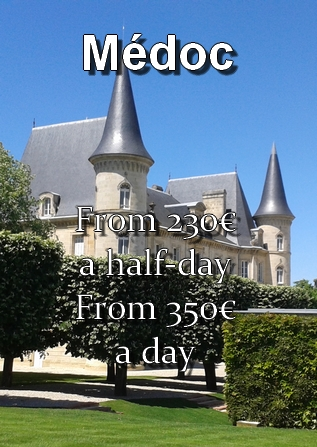 Price of the transportation to the Médoc